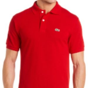 red Lacoste Classic Fit
